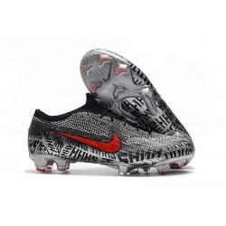 Chaussures de Football - Nike Mercurial Vapor XII Elite FG Neymar Noir Blanc Rouge