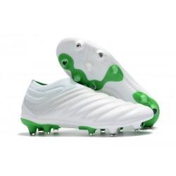 Nouvelles Crampons De Football Adidas Copa 19+ FG Blanc Vert