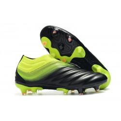 Nouvelles Crampons De Football Adidas Copa 19+ FG Noir Vert