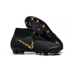 Crampons pour Hommes Nike Phantom VSN Elite DF FG Black Lux