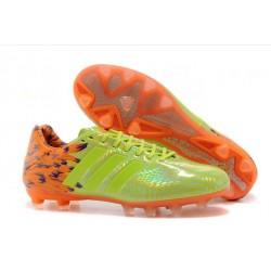2014 Chaussure Adidas 11Pro Trx Fg pour Homme Samba Jaune Orange