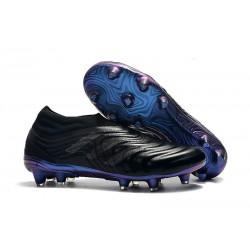 Nouvelles Crampons De Football Adidas Copa 19+ FG Noir Bleu