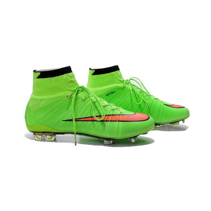 Rouge Mercurial Superfly Vert Homme Fg Football 2014 Chaussures kXw0OP8n