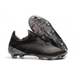 adidas X 19+ FG Chaussure de Football Dark Script Noir