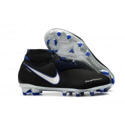 Crampons pour Hommes Nike Phantom VSN Elite DF FG Bleu Noir