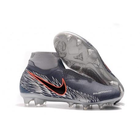 Crampons pour Hommes Nike Phantom VSN Elite DF FG Victory Pack Gris