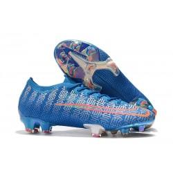 Nike Crampons Mercurial Vapor 13 Elite FG Bleu Rouge