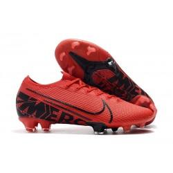 Nike Crampons Mercurial Vapor 13 Elite FG Rouge Noir