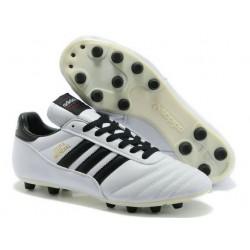 Chaussures de Foot Adidas Copa Mundial Nouveau Homme Blanc Noir