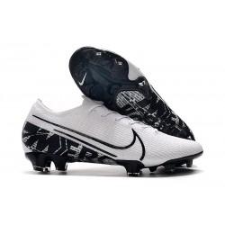 Chaussure Nike Mercurial Vapor XIII Elite FG Homme Blanc Noir