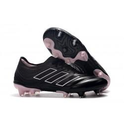Chaussures de Football pour Hommes Adidas Copa 19.1 FG Nero Rosa