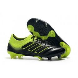 Chaussures de Football pour Hommes Adidas Copa 19.1 FG Noir Vert