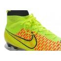 Nouvelle Homme Cramspon de Foot Nike Magista Obra FG Jaune Vert Rouge