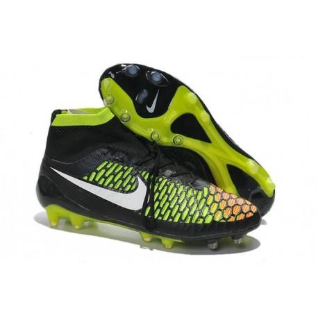 Nouvelle Homme Cramspon de Foot Nike Magista Obra FG Noir Rouge Vert Blanc