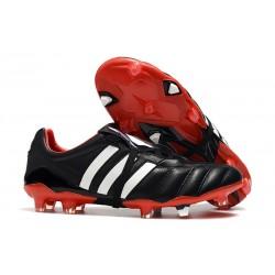 adidas Predator Mania FG Chaussure Football Noir Rouge Blanc