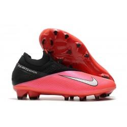 Crampon Football Nike Phantom Vision 2 Elite FG Cramoisi Argent Noir