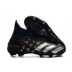 Crampons Paul Pogba adidas Predator Mutator 20+ PP FG Noir Gris