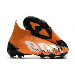 Crampons adidas Predator Mutator 20+ FG Orange Blanc Noir