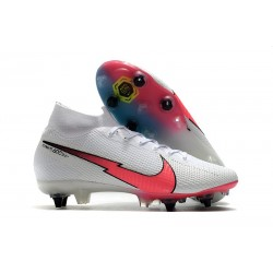 Nike Mercurial Superfly 7 Elite DF SG Blanc Rouge