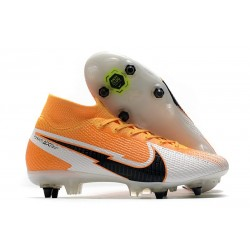 Nike Mercurial Superfly 7 Elite DF SG Daybreak - Orange Laser Noir Blanc