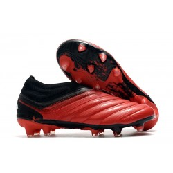 Chaussures Foot adidas Copa 20+ FG - Rouge Blanc Noir