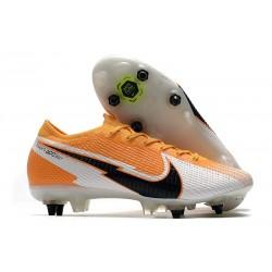 Nike Mercurial Vapor XIII Elite SG-PRO Ac Orange Laser Noir Blanc