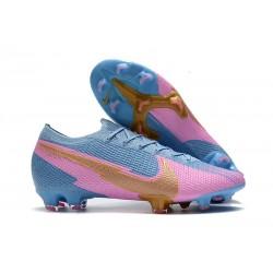 Nouvelles Nike Mercurial Vapor 13 Elite FG Bleu Rose Or