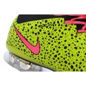 2014 Homme Chaussures Football Mercurial Superfly FG Jaune Rose Noir