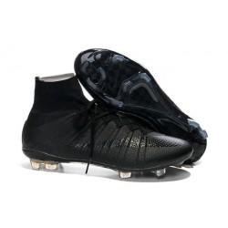 Coupe du Monde 2014 Chaussures Mercurial Superfly IV FG Nouvelle Noir
