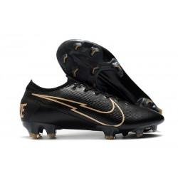Nouvelles Nike Mercurial Vapor 13 Elite FG Noir Or