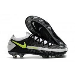 Nouvelle chaussure Phantom GT Elite FG de Nike - Noir Gris Vert
