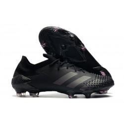 Crampons Adidas Predator Mutator 20.1 Low FG Noir