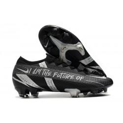 Nouvelles Nike Mercurial Vapor 13 Elite FG Future Noir Argent
