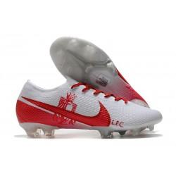 Nouvelles Nike Mercurial Vapor 13 Elite FG LFC Blanc Rouge