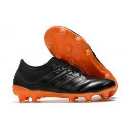 Chaussures de Football pour Hommes Adidas Copa 19.1 FG Noir