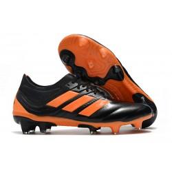 Chaussures de Football pour Hommes Adidas Copa 19.1 FG Noir Orange