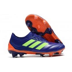 Chaussures de Football pour Hommes Adidas Copa 19.1 FG Violet Vert