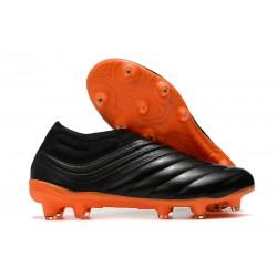 Chaussures Foot adidas Copa 20+ FG - Noir Orange
