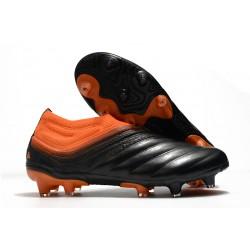 Chaussures Foot adidas Copa 20+ FG - Corail Noir Rouge Goire
