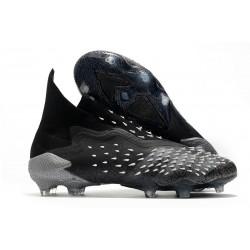 adidas Chaussures Predator Freak + FG Noir Gris Blanc