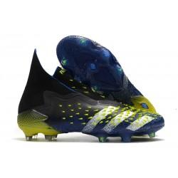 adidas Chaussures Predator Freak + FG Bleu Jaune