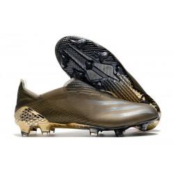 Crampon de Foot adidas X Ghosted+ FG Marron