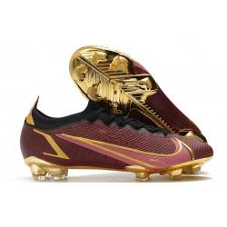 Nike Neuf Mercurial Vapor XIV Elite FG Rouge Or