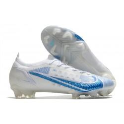 Nike Mercurial Vapor 14 Elite FG Blanc Bleu