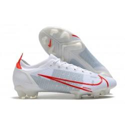 Nike Mercurial Vapor 14 Elite FG Blanc Rouge