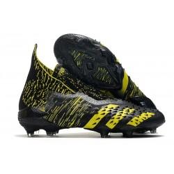 adidas Chaussures Predator Freak + FG Noir Jaune