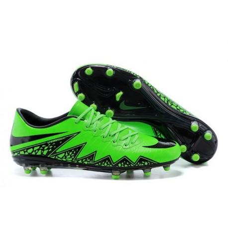 Nouvelle Chaussure Homme Nike ACC Premium Hypervenom Phantom FG Vert Noir