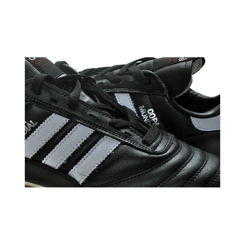 on sale 5f28f 74c99 Chaussures de Foot Adidas Copa Mundial Nouveau Homme Noir Bl