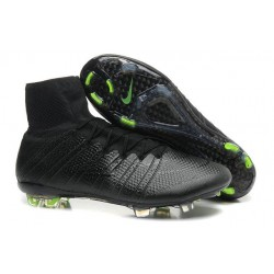2015 Homme Chaussures Football Mercurial Superfly FG tout Noir