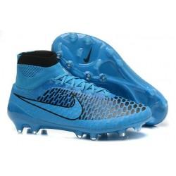 Nouvelle Homme Cramspon de Foot Nike Magista Obra FG Noir Bleu